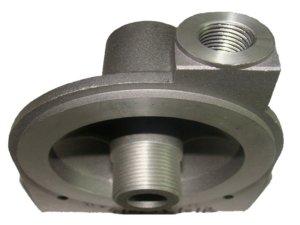 Aluminum-oil-filter-base