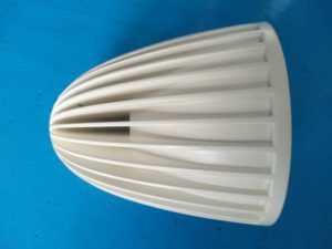 aluminum casting part-powder coating