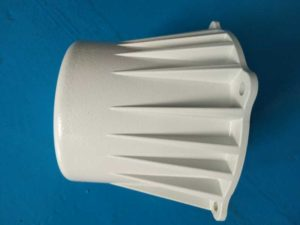 aluminum casting-powder coating