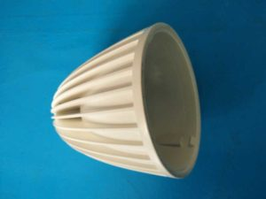 aluminum die casting-powder coating